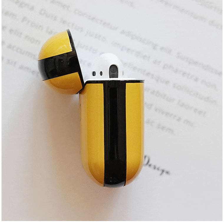 Pikachu Glossy Hard Protective Shockproof Case For Apple Airpods 1 & 2 - AshleySale