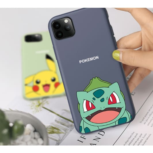 Pokemon Style Soft Silicone Designer iPhone Case For iPhone 11 Pro Max X XS XS Max XR 7 8 Plus - AshleySale