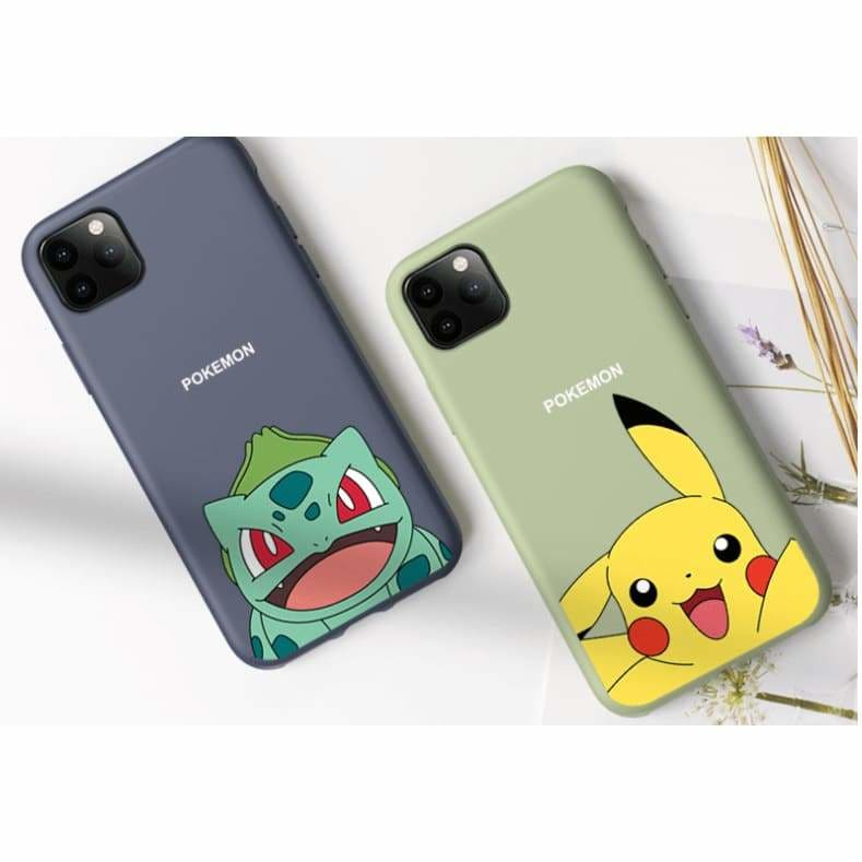 POKEMON STYLE SOFT SILICONE DESIGNER IPHONE CASE FOR IPHONE
