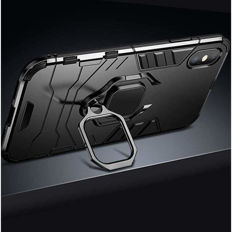 RING HOLDER BUMPER PROTECTIVE DESIGNER IPHONE CASE FOR