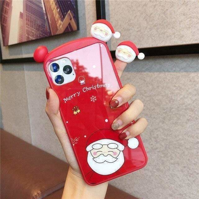 SANTA CLAUSMAS DEER PHONE CASE FOR IPHONE 12 PRO MAX