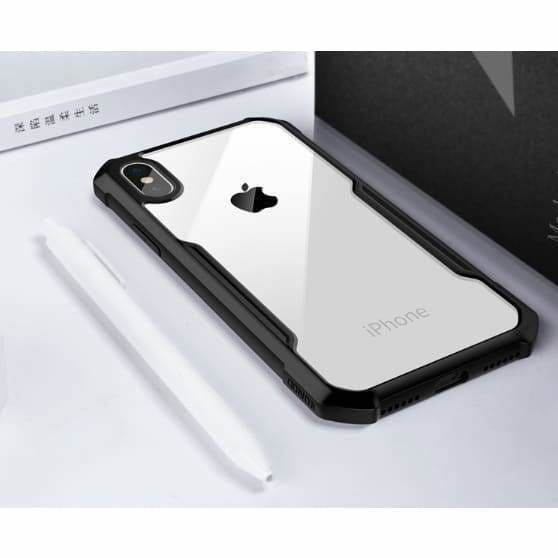 TEMPERED GLASS BUMPER FRAME DESIGNER IPHONE CASE FOR IPHONE