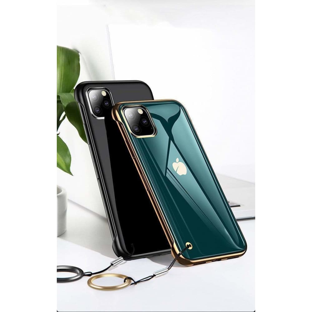 Ultrathin Shine Tempered Glass Designer iPhone Case For iPhone 11 Pro Max X XS XS Max XR 7 8 Plus - AshleySale
