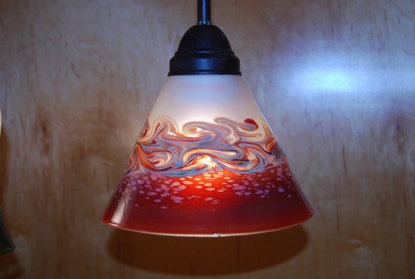 Handblown Glass Pendant Shade