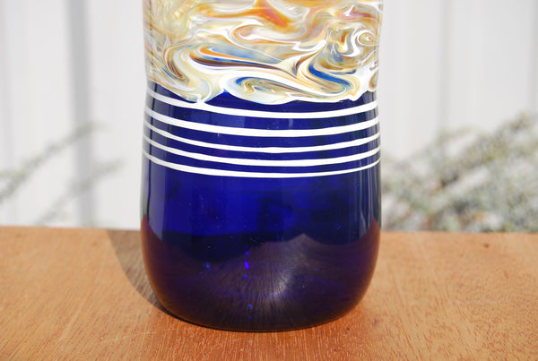 Cobalt Glass Handblown Tumbler