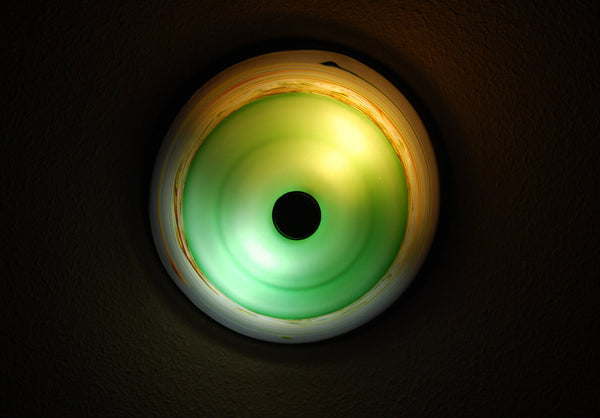 Hand blown Flush Mount Ceiling Light
