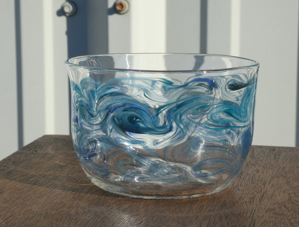 Handblown Glass Bowl