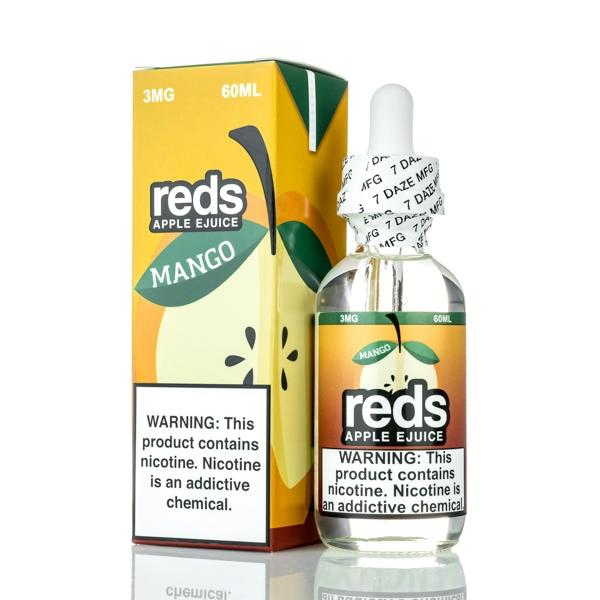 REDS APPLE E-LIQUID BY 7 DAZE  60ML