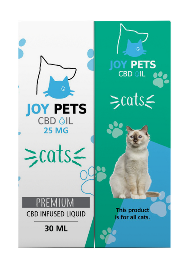 JoyPets 25mg CBD Oil for Cats 30ML