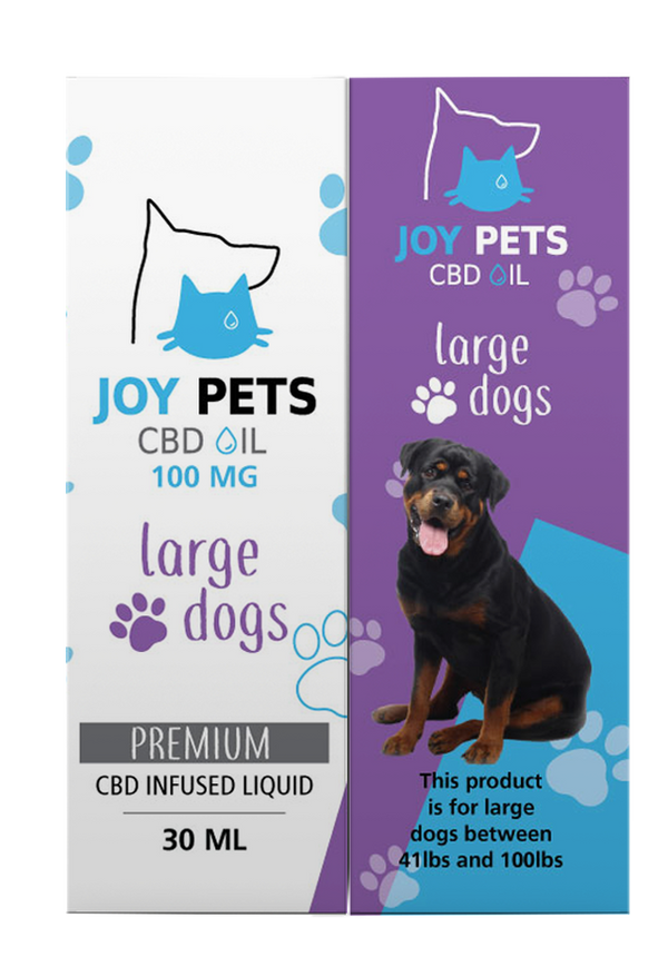 JoyPets 100mg CBD Oil for Large Dogs 30ml