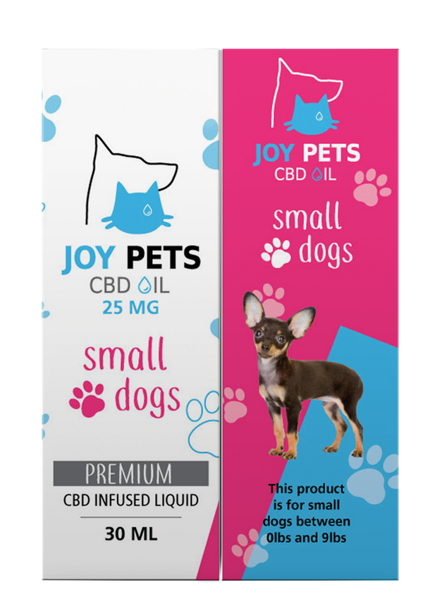 JoyPets 25mg CBD Oil For Small Dogs 30ML