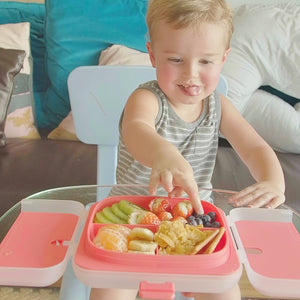 Yaytray® Deluxe | The World's First All-In-One Kids Eating Tray!