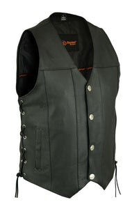 RC142 Men's Single Back Panel Concealed Carry Vest (Buffalo Nickel Head Snaps)