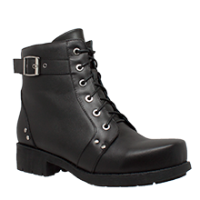 8647 Women's Double Zipper Boot