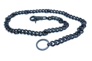 "WC001 34"" Wallet Chain Black"