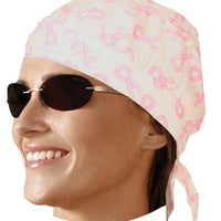 HW2681 Headwrap Pink Ribbon
