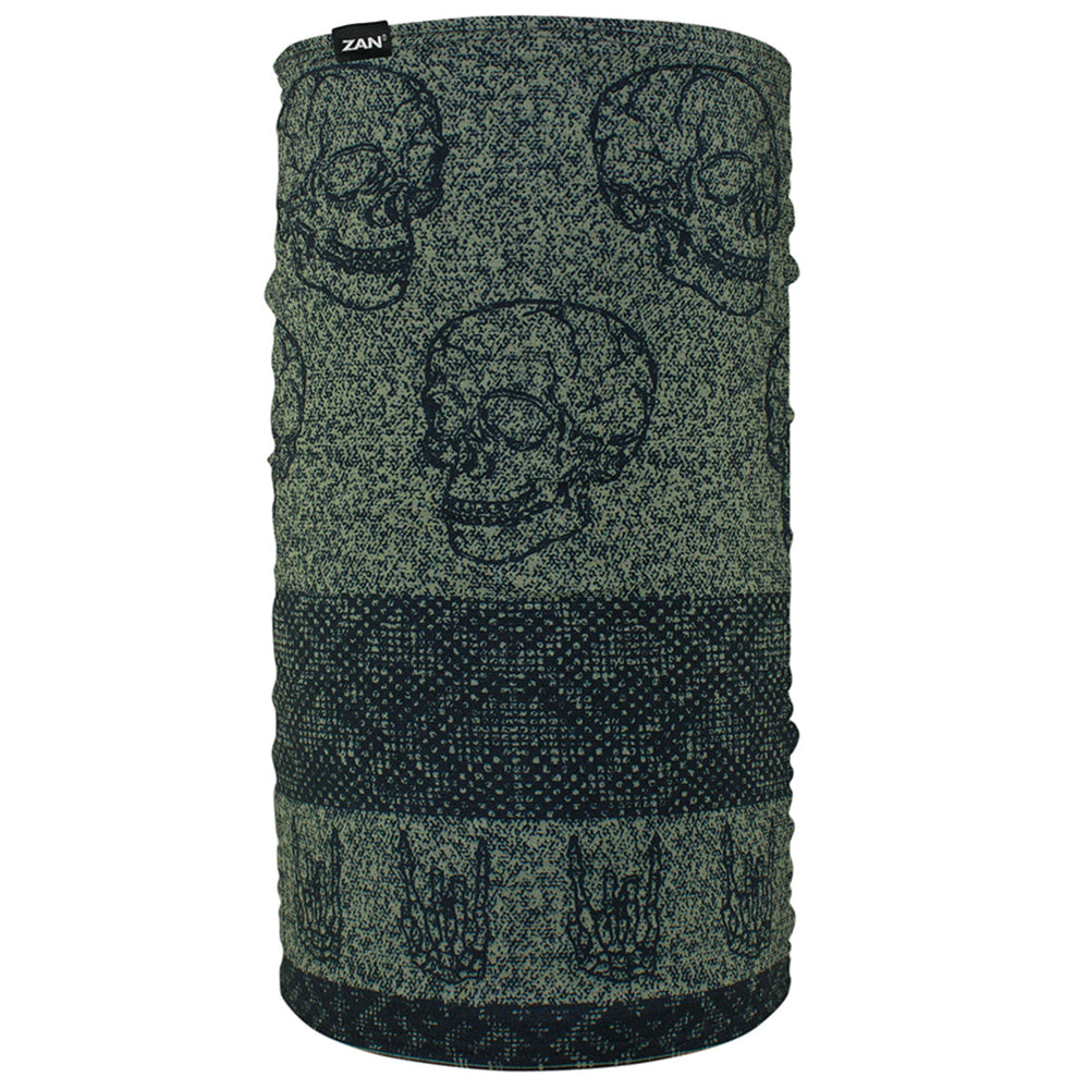 TF123 Motley Tube® Fleece Lined- Skull Fairisle