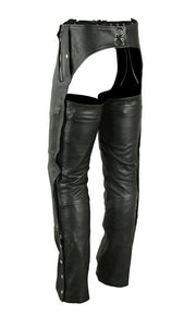 DS405  Unisex Double Deep Pocket Thermal Lined Chaps