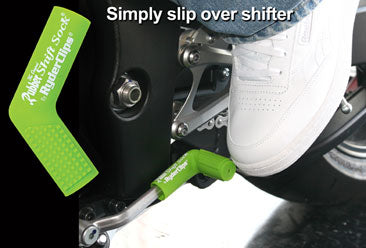 RSS-GREEN Rubber Shift Sock- Green