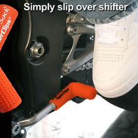 RSS-ORANGE Rubber Shift Sock- Orange