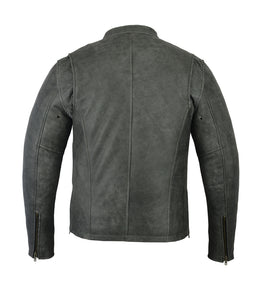 DS709   Men's Sporty Cruiser Jacket (GRAY)