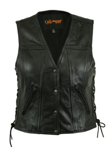 DS205 Women's Single Back Panel Concealed Carry Vest