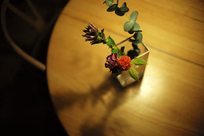 on The Table at Night