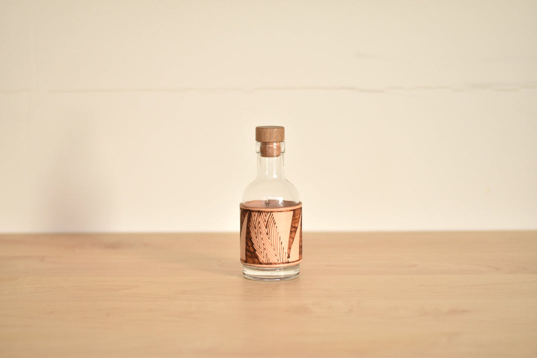 LEATHER BOTTLE (S)#2