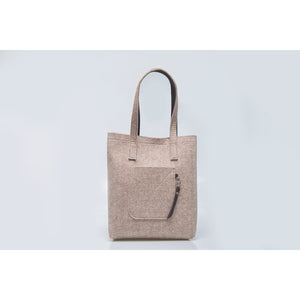 Felt Wool Tote Bag for Women
