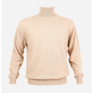 MENS CLASSIC ROLL NECK SWEATER