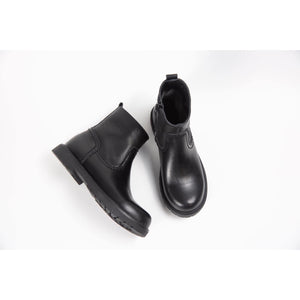 Pure Leather Winter Chelsea Boots for Kids