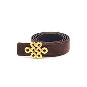 Men's Leather Belt Reversible