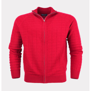 MENS FULL ZIP CARDIGAN