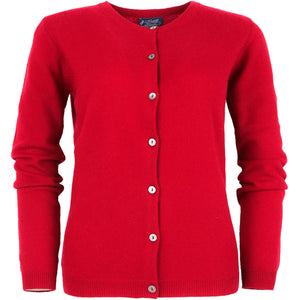 LADIES FULL BUTTON CARDY