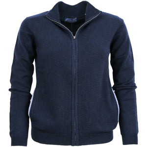 LADIES FULL ZIP CARDY