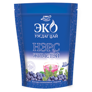 Eco Instant Tea with Blueberry