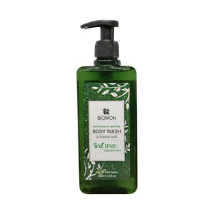 Biomon Body Wash with Tea Tree and Spearmint