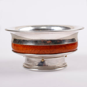 Silver Bowl, Mongolian Traditional bowl