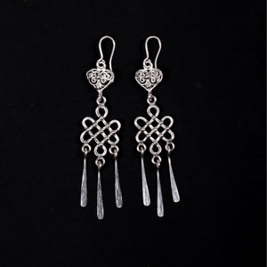 Ulzii Silver Earrings