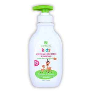 Biomon Kids Shampoo and Body Wash
