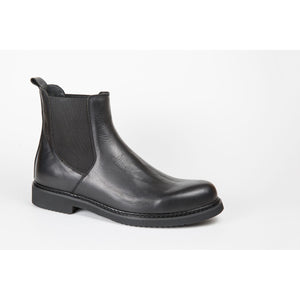Pure Leather Chelsea Winter Boots for Men