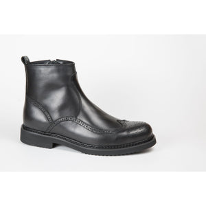Pure Leather Ankle Boots for Men