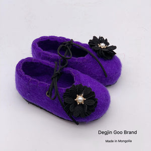 Wool Felt Shoe for Girls