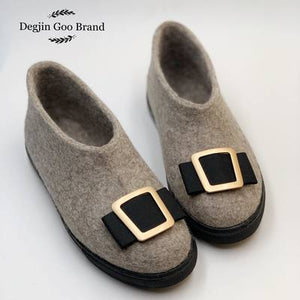 Degjin Goo Brand 100% Wool Felt Shoes