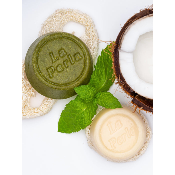 Nettle Solid Shampoo and Conditioner Bar Set