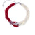 925 Sterling Silver Pearl and Coral Elegant Necklace for Women