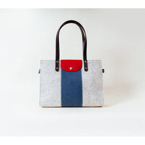 Eco-Friendly Wool Felt Handbag for Women