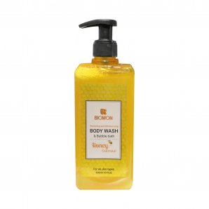 Biomon Body Wash with Honey and Oatmeal