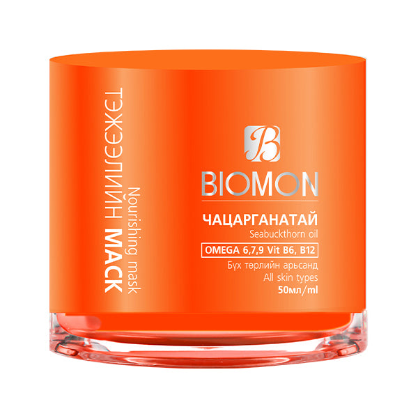 Biomon Sea Buckthorn Nourishing Mask