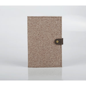 Notebook with Woven Cover